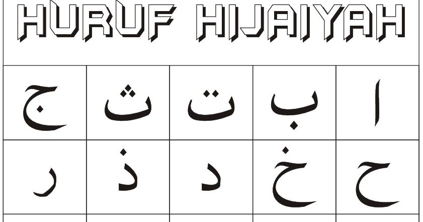 SOLEH RITUAL, WARAK PROFESIONAL: HURUF HIJAIYAH