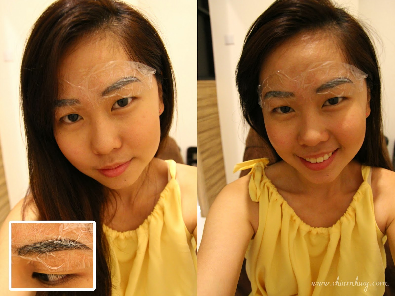 Eyebrow Embroidery New Technique In Singapore Highbrow Star