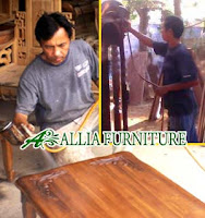 Proses Finishing Furniture Melamine Warna