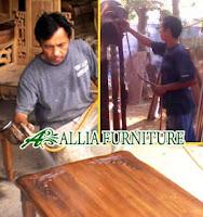 Proses Finishing Furniture Melamine Warna