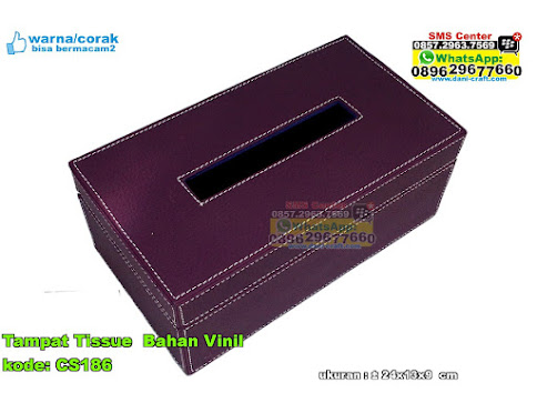 Tampat Tissue Bahan Vinil