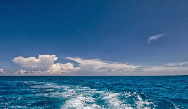 Bahamas, ocean view, ocean front, blue water, horizon, blue horizon, blue water, vacation photo