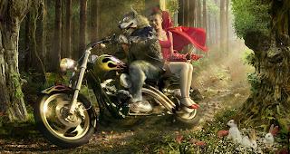 Little Red Riding Hood HD Wallpaper