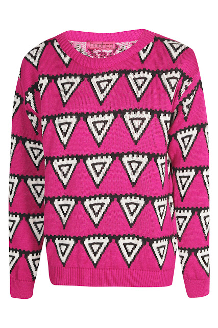 pink triangle jumper
