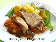 Jahňacie mäso so zeleninou - recept