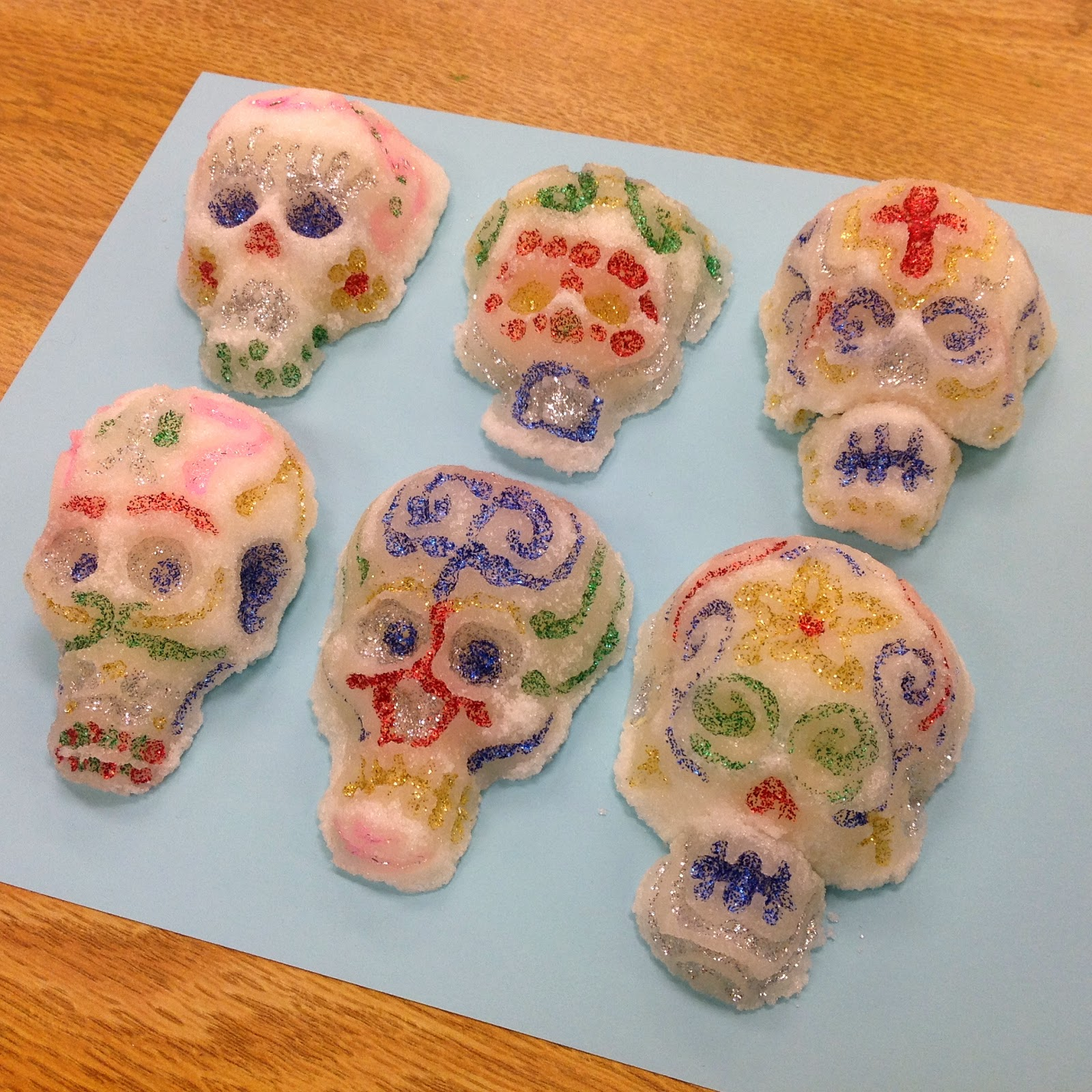 Art Club Sugar Skulls Activity