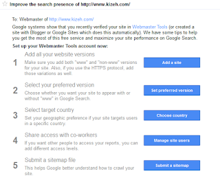 Tips SEO dari google webmaster