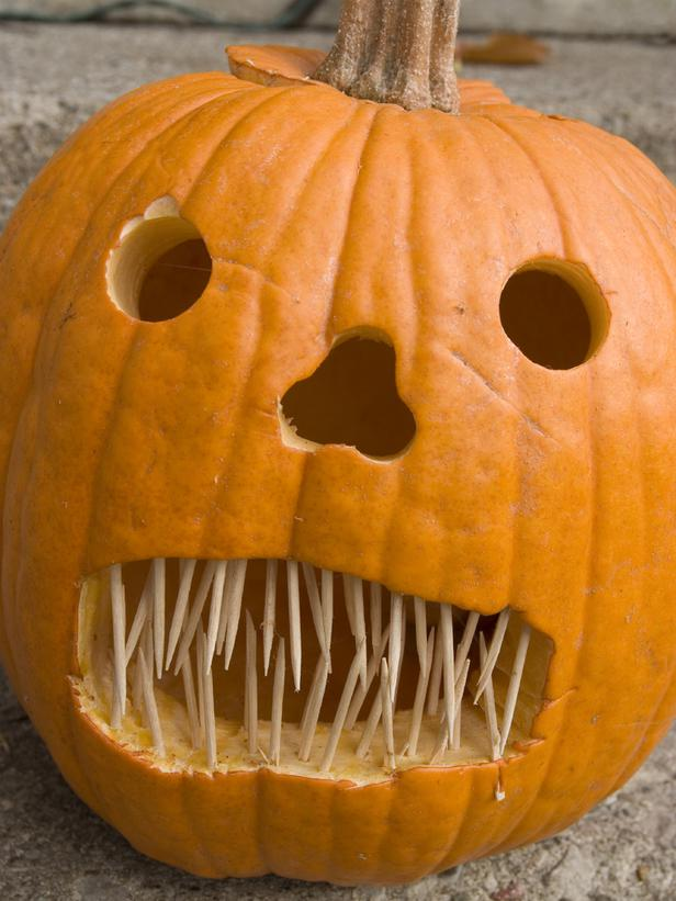 Pumpkin Carving Ideas Teeth