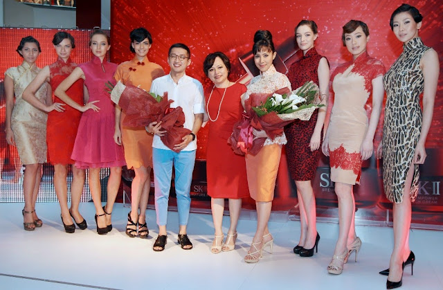 A Timeless Cheongsam, Khoon Hooi, SK-II, Cheongsam, fashion, beauty