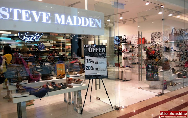 Steve Madden Boutique now available in Malaysia at Suria KLCC