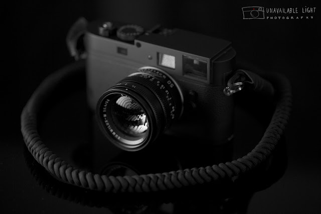 Leica Monochrom with custom cord strap