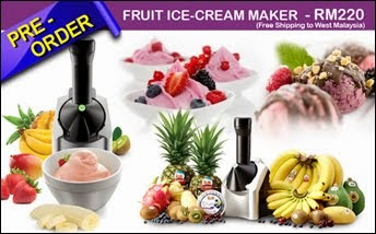 FRUIT ICE-CREAM MAKER