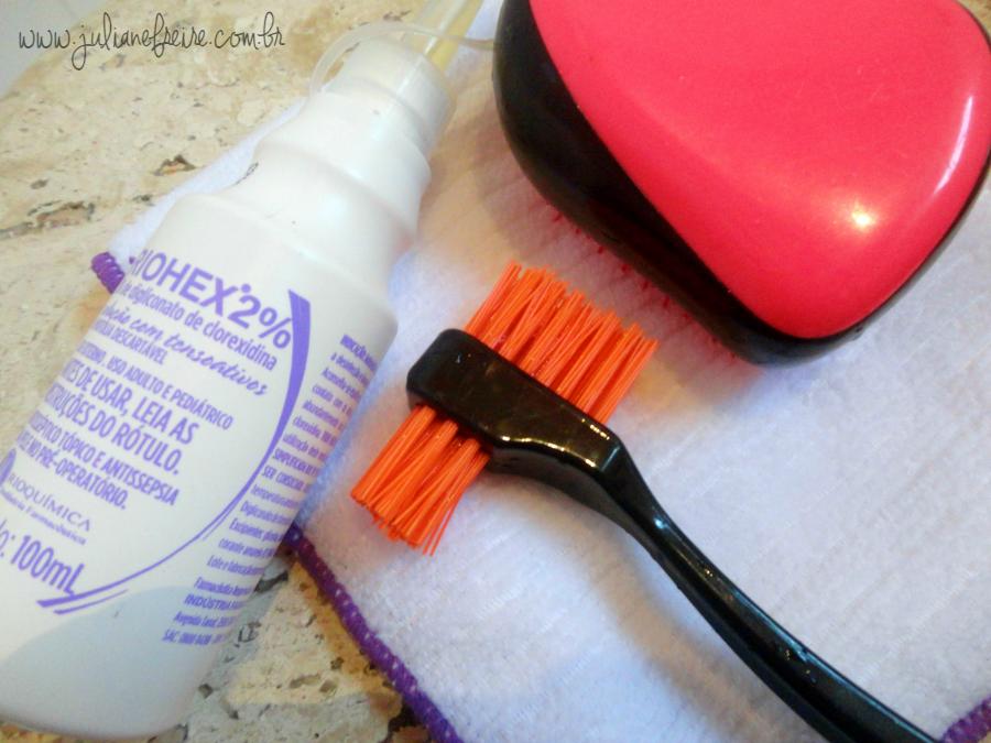 Limpar escova Tangle Teezer