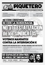 YA SALIÓ: EL PIQUETERO Nº 2 - Junio 2012
