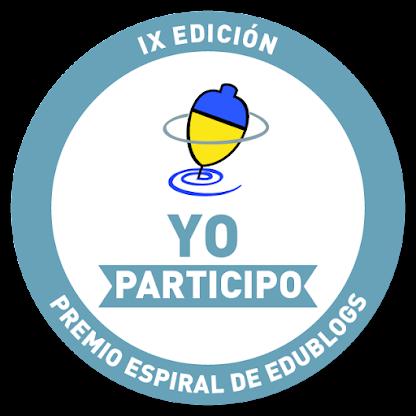 Candidatura. Premio Espiral de Edublogs 2015.