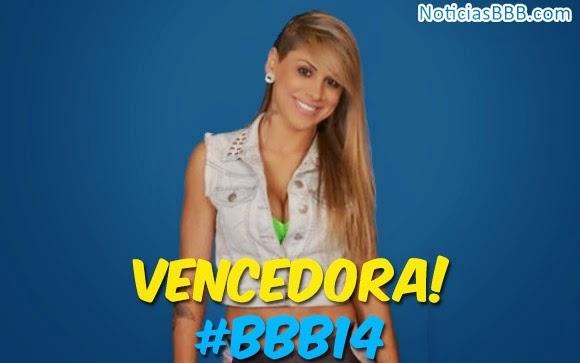Quem ganhou o BBB 2014 foi Vanessa