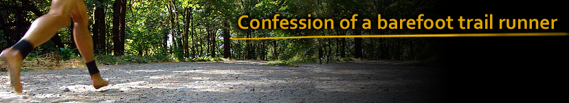 Confession of a barefoot trail runner
