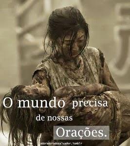 O MUNDO CLAMA!!!