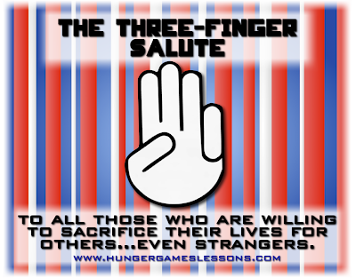 Veterans Day Three-Finger Salute