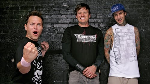 LAUGHT WITH BLINK 182  :D