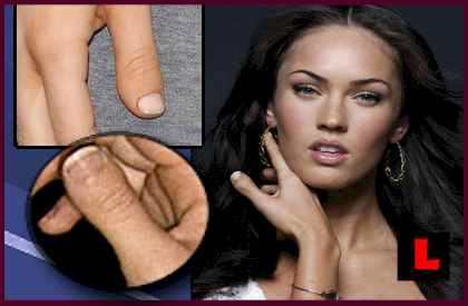 megan fox nail blog