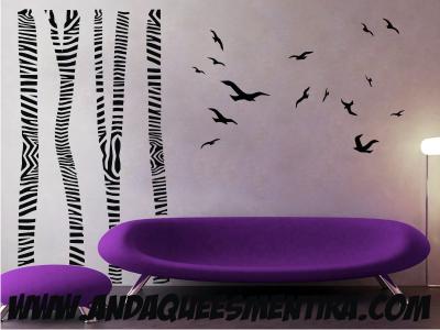 Los vinilos son la alternativa mas económica a la hora de decorar tus ambientes!