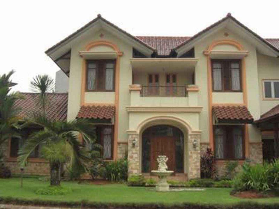 bentuk rumah sederhana tapi mewah dari depan