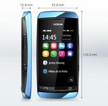 Spesifikasi Nokia Asha 305 review dan harga baru bekas second