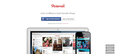 Social Shopping Website Pinterest for Collecting and Organizing the Things that Inspire You