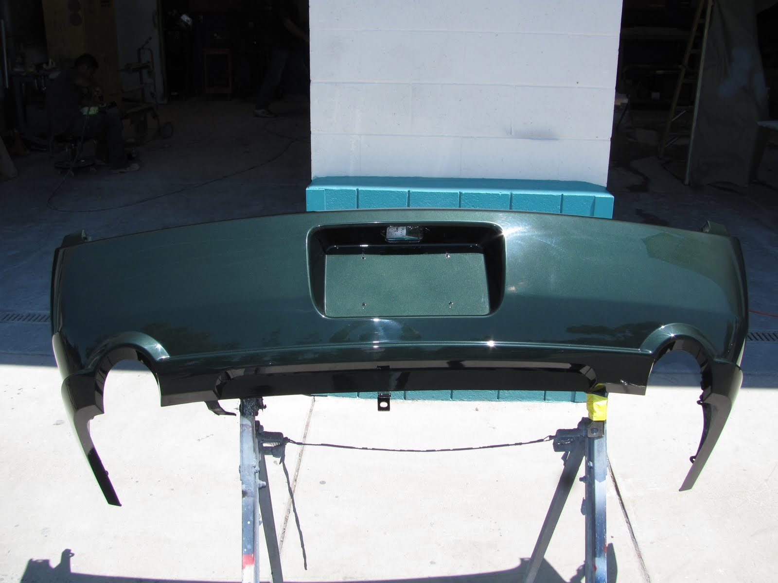Project Mustang Bullitt 2014 Carbon Fiber Fuse Box Cover Next On Our List Was To Come Up With A Radiator For The Weve Been Making One Piece Mustangs And Gt500 Three