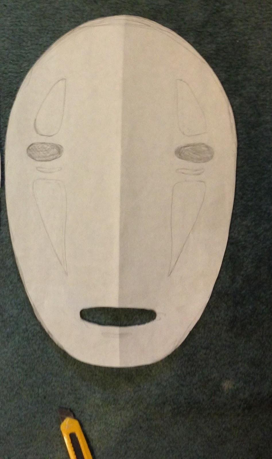 part 1  no face mask tutorial  spirited away