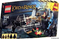 Lego the Lord of the Rings Box attack on weathertop, atak na wichrowy czub, Aragorn i hobbici