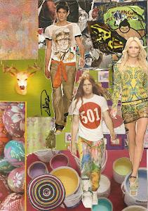 Non smesso mai....una mia fashion collage