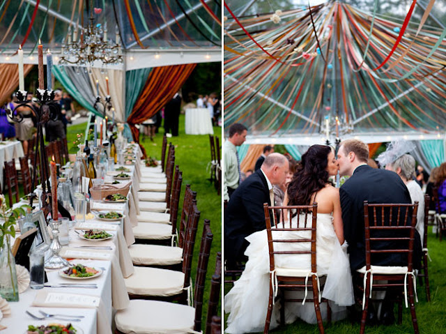 ribbon wedding