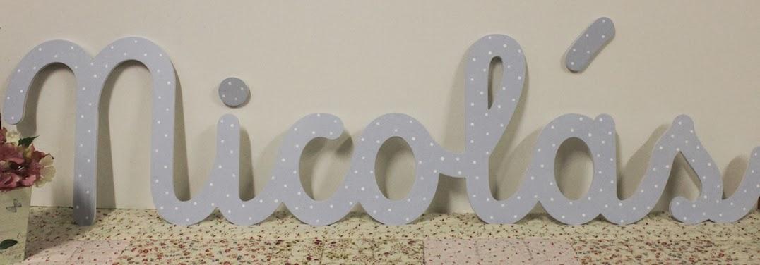 20 febrero 2014 letras decorativas infantiles en - Letras decorativas pared ...