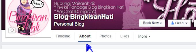 Tutorial | Tukar Nama Page Facebook