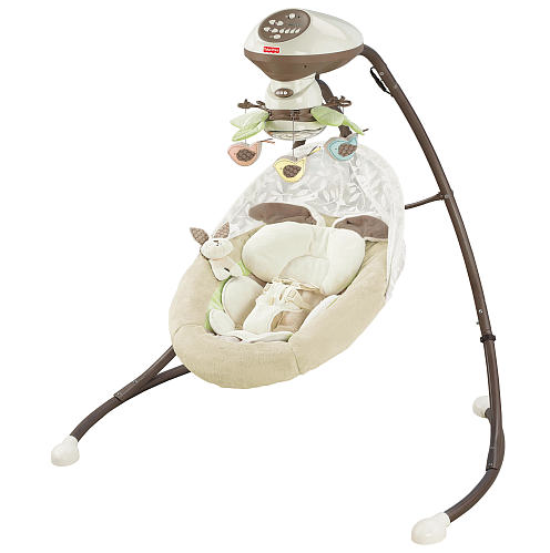 should baby sleep in swing all night 2