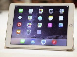 O iPad Air 2 tem tela do mesmo tamanho do atual iPad Air, de 9,7 polegadas, mas é 18% mais fino