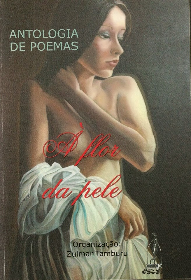 Antologia de Poemas á flor da pele -São Paulo/SP