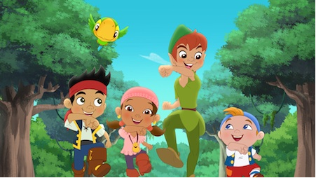 The Ethertons Jake And The Never Land Pirates Peter Pan