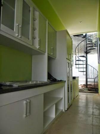 Kitchen Set Warna Putih Abu Abu Furniture Semarang