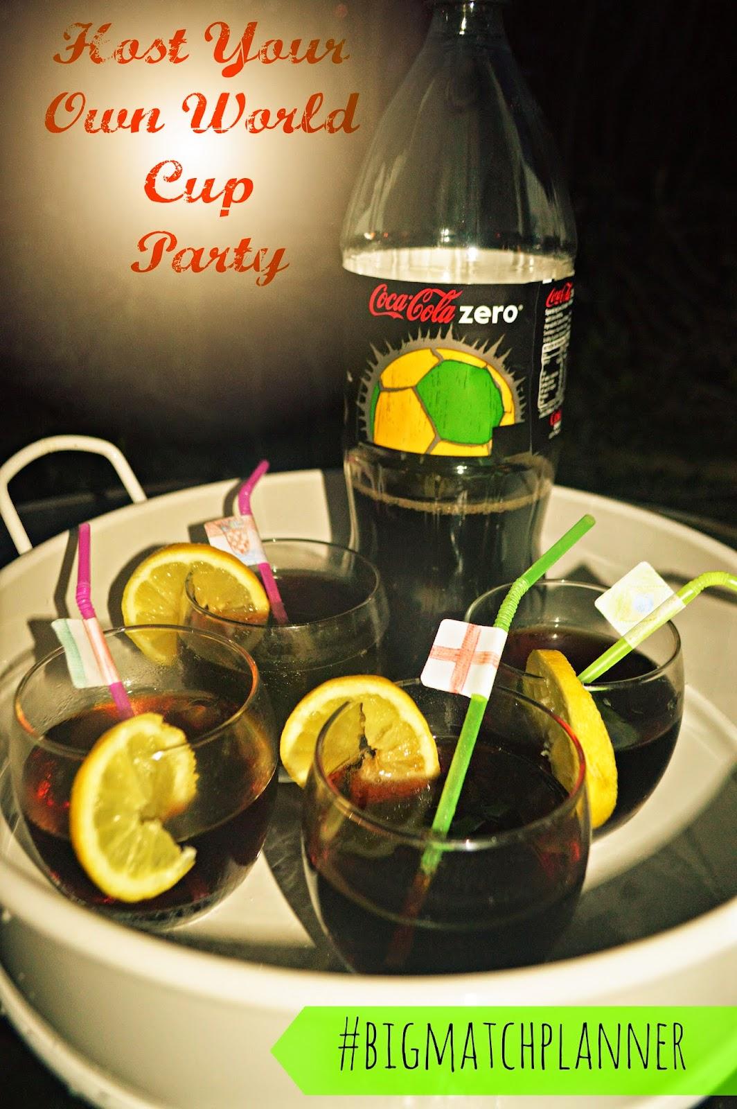 Big Match Planner Party Coca Cola Zero Refreshments CBIAS FIFA World Cup Brazil 2014 #bigmatchplanner #cbias