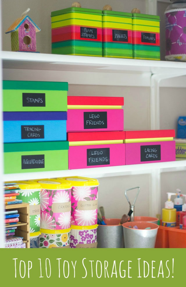 Reign In Your Kids 39 Toys With These Simple Storage Ideas