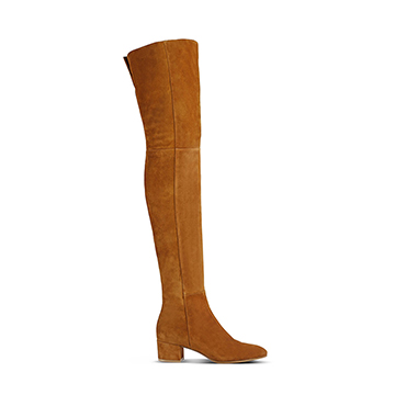 Gianvito Rossi neutral over the knee boots with low block heel