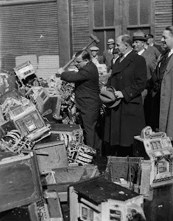 Mayor LaGuardia vs. the Mechanical pickpockets