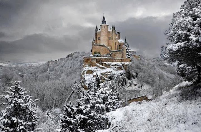 Alcazar Castle of Segovia, Spain.