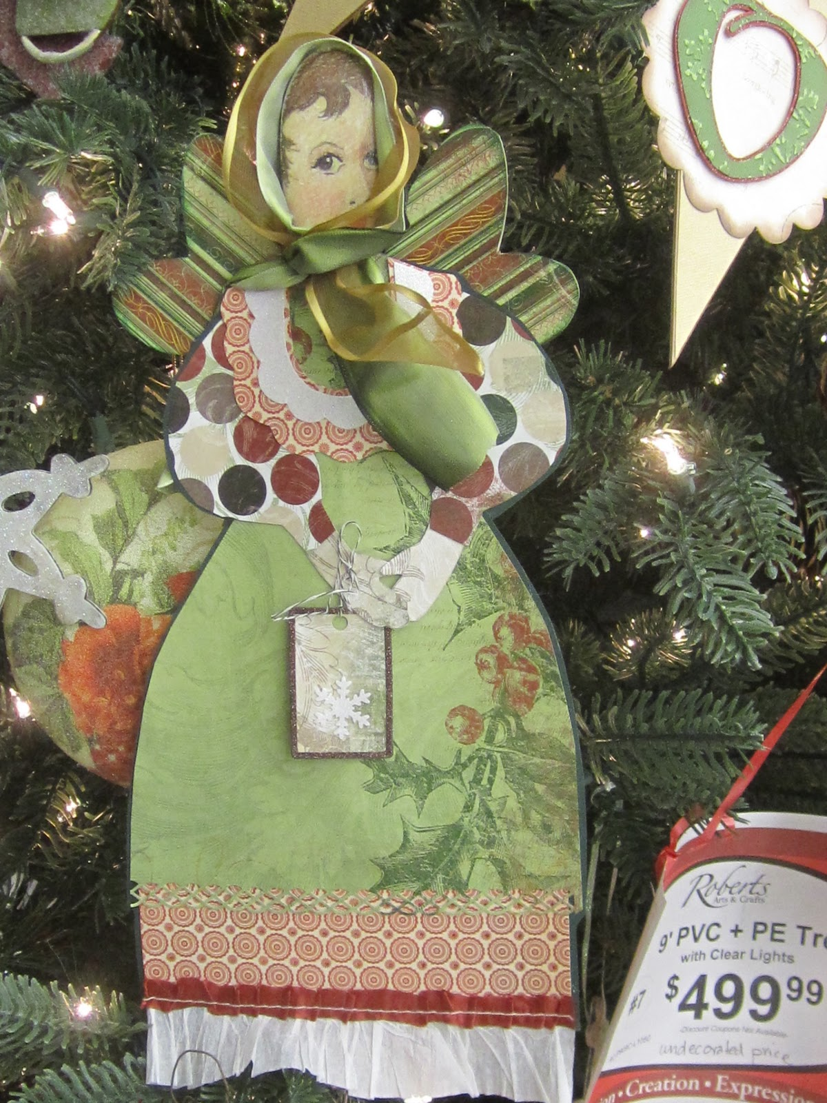 How to delete scrapbook photos google+ - I Made The Paper Doll By Covering A Wooden Spoon With An Image I Drew And Color Copied And Decoupaged The Clothing Is Scrapbook Paper Which Is Backed With