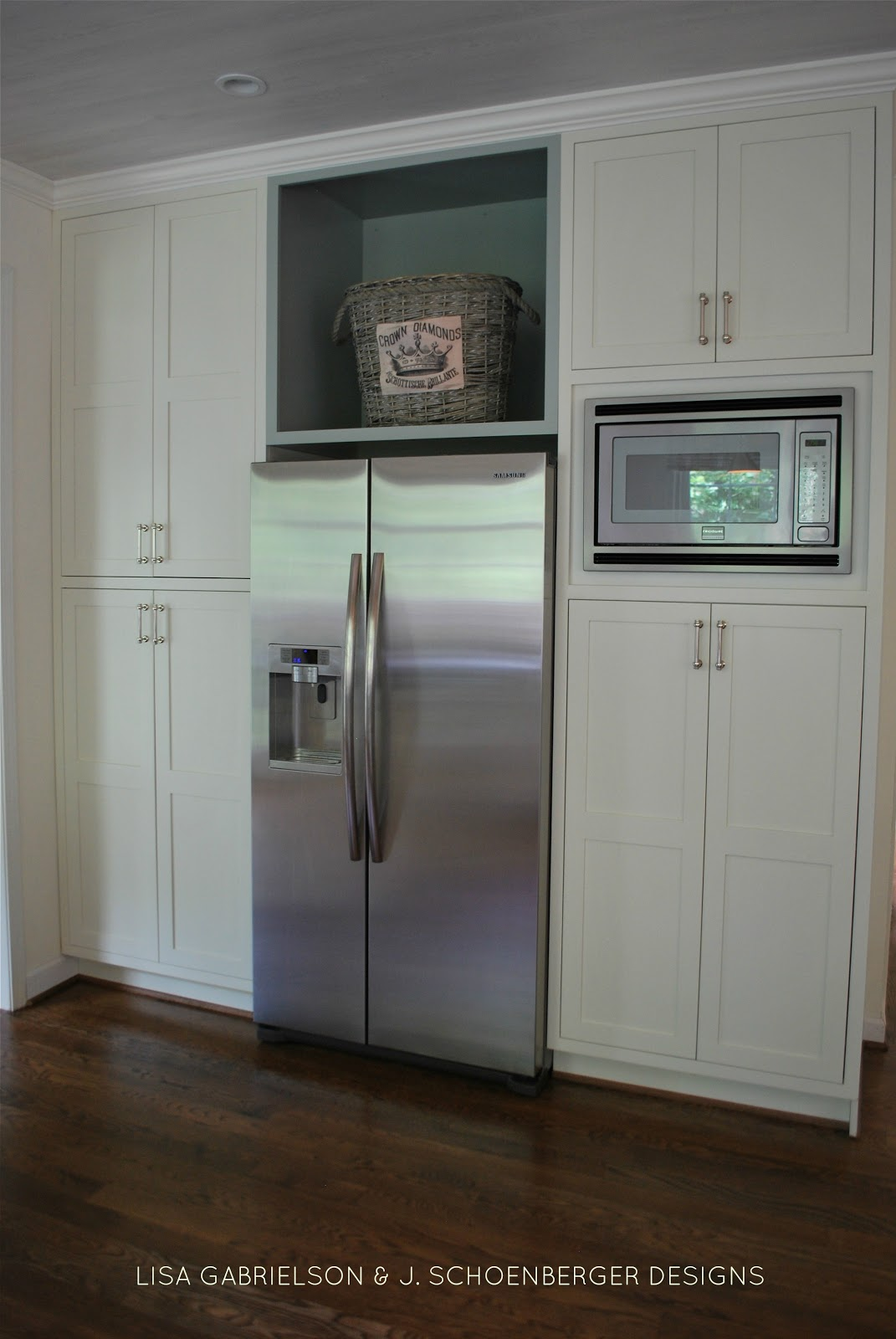 Marvelous Afteru2026all Cabinets And Walls Painted Mascarpone By Benjamin Moore With  Touches Of Tranquility By Sherwin Williams. The Entire Kitchen Ceiling Was  Planked ... Part 30