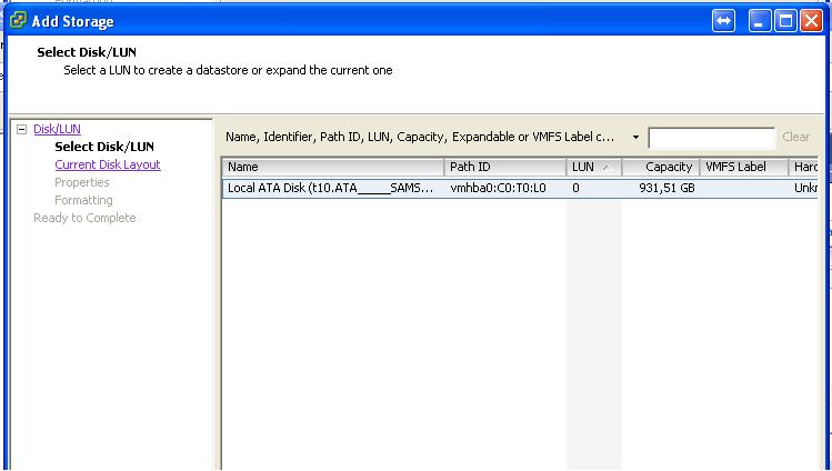 how to add usb storage to esxi 6
