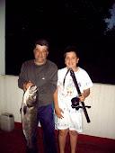 El mejor robalo...con mi padre